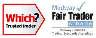 Which and Fair Trader logos